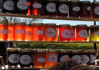 Jams, pickles and preserves